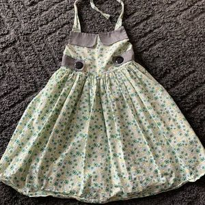 Handmade dress size 7/8 worn twice.  Great cond